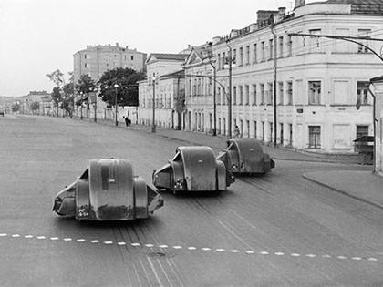 Так убирали улицы СССР