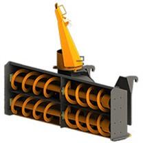 Снегометатели шнекороторные для экскаваторов-погрузчиков