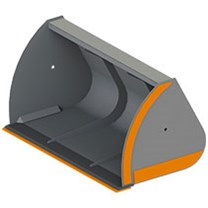 Ковши увеличенной емкости для телескопических погрузчиков