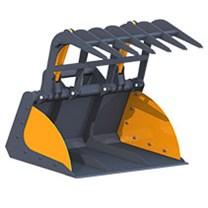 Захваты ковшевые для телескопических погрузчиков