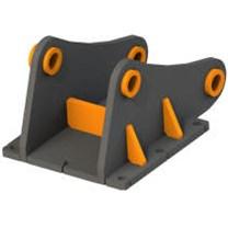 Переходные плиты для гидровращателей для мини-экскаваторов