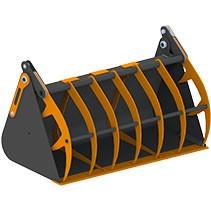 Ковши с прижимом для фронтальных погрузчиков