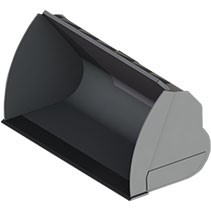Ковши увеличенной емкости для экскаваторов-погрузчиков