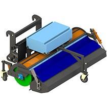 Щетки с передним бункером для телескопических погрузчиков