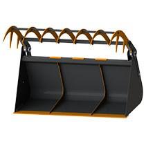 Ковши с прижимом для телескопических погрузчиков