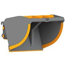 Ковши высокой выгрузки для легких материалов для фронтальных погрузчиков