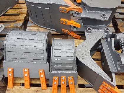 Ковши и навесное оборудование для мини-экскаваторов