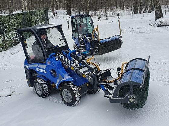 Завершены испытания линейки для мини-тракторов Avant и MultiOne