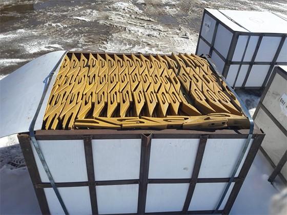 На склад Метатэкс поступило свыше 6 тысяч экскаваторных зубьев ESTI
