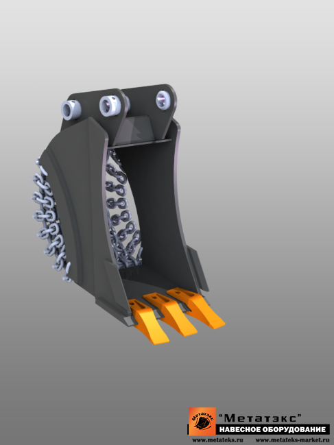 Ковш специальный траншейный для мини-экскаваторов (300 мм) - фото 23265
