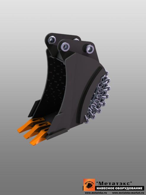 Ковш специальный траншейный для мини-экскаваторов (400 мм) - фото 23268