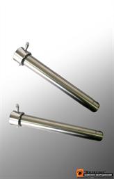 Палец ковшевой универсальный термоупрочненный D45-305 мм (JCB, Volvo, Terex, Komatsu)