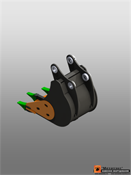 Ковш-рыхлитель для Caterpillar 434 0,8 куб. метра (1000 мм)