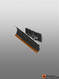 Отвал для уборки снега для JCB 3cx (гидравлический поворот)