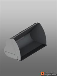 Ковш фронтальный увеличенной емкости  для погрузчика массой до 20 тн 5,0 куб. метра