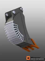 Ковш специальный траншейный для экскаваторов-погрузчиков (400 мм)
