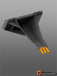 Корчеватель (копатель) для мини-погрузчика