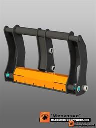 Фронтальное быстросъемное устройство для экскаватора-погрузчика (гидравлическое)