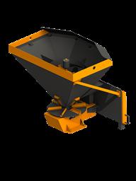 Пескоразбрасыватель для мини-погрузчиков (0,5 куб. метров)