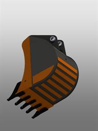 Универсальный ковш для экскаватора-погрузчика (900 мм)