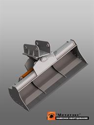 Поворотный планировочный ковш для экскаватора-погрузчика (1200 мм)