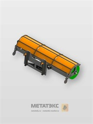 Щетка поворотная для SDLG LG936 шириной 2400 мм