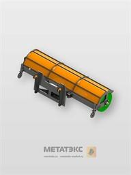 Щетка поворотная для XCMG LW300 шириной 2400 мм