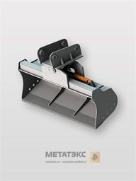 Поворотный планировочный ковш для JCB 3CX 1500 мм (0,25 куб. метра)