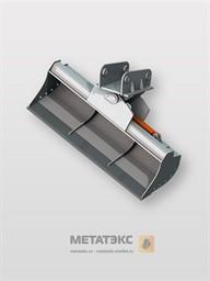 Поворотный планировочный ковш для JCB 4CX 1200 мм (0,2 куб. метра)