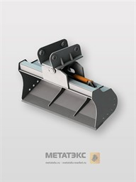 Поворотный планировочный ковш для Case 590 1500 мм (0,25 куб. метра)