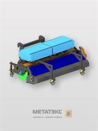 Щетка с бункером для JCB 3CX 2200 мм