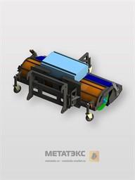 Щетка с бункером для JCB 3CX 2450 мм
