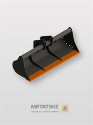 Ковш планировочный для Komatsu WB93 1600 мм (0,3 куб. метра)