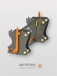 Фронтальное механическое быстросъемное устройство для Case 580