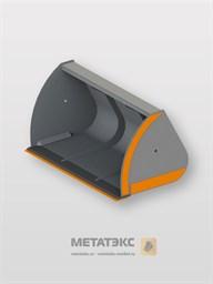 Ковш увеличенной емкости для Dieci AgriStar 37.7 (ширина 2450 мм, объем 4,0 куб. метра)