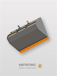 Зерновой ковш Premium для Dieci AgriStar 37.7 (ширина 2450 мм, объем 2,5 куб. метра)
