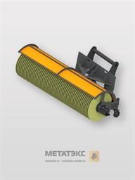 Щетка коммунальная с гидравлическим поворотом для Dieci MiniAgri 25.6 (ширина 2200 мм)