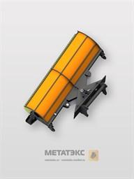 Щетка коммунальная с гидравлическим поворотом для Dieci AgriStar 37.7 (ширина 2800 мм)