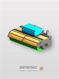 Щетка с бункером для Manitou MT-X 420/ MT 625 (ширина 2000 мм)