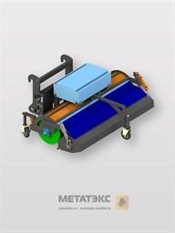 Щетка с передним бункером для Manitou MT-X 420/ MT 625 (ширина 2200 мм)