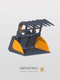 Захват ковшевой для Manitou MT-X 420/ MT 625 (ширина 1900 мм)