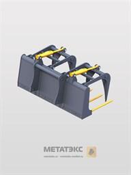 Захват вилочный для Dieci AgriStar 37.7 (ширина 2400 мм)