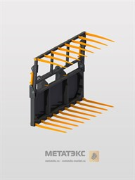 Захват для сена для Bobcat T 2250 (ширина 2100 мм)