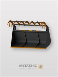 Ковш с прижимом для Bobcat TL 30.60/ TL TL 30.70 (объем 2,0 куб. метра)
