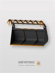 Ковш с прижимом для Manitou MLT-X 625 (объем 2,0 куб. метра)