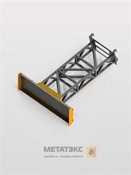 Отвал-буртовщик для Manitou MT-X 420/ MT 625 (ширина 2200 мм)