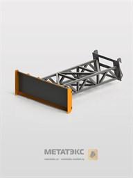 Отвал-буртовщик для Dieci AgriStar 37.7 (ширина 2450 мм)
