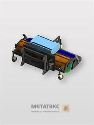 Щетка с передним бункером для SDLG LG952/LG953/LG956 (2200 мм)