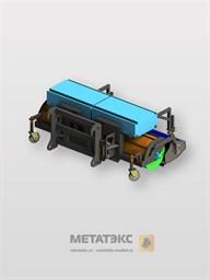 Щетка с передним бункером для SDLG LG952/LG953/LG956 (2450 мм)