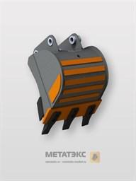 Универсальный ковш для Hitachi ZX15 (400 мм)